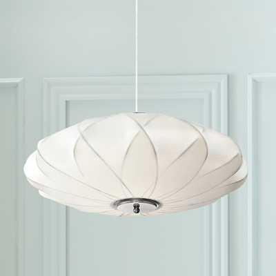 "Flower Cloud 22 1/2"" Wide Contemporary White Pendant - Style # 8G381 - Lamps Plus"