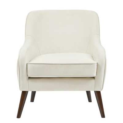 Gillian Accent Chair Cream (Ivory) - Target