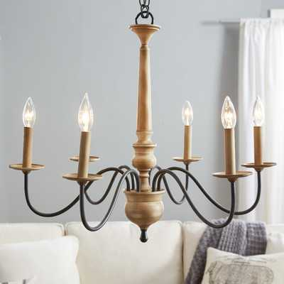 Edson 6-Light Candle-Style Chandelier - Wayfair