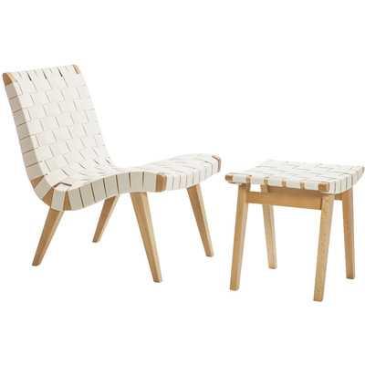 Lounge Chair and Ottoma - Wayfair