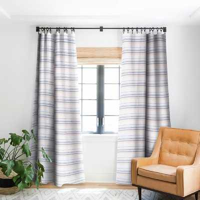 Holli Zollinger French Linen Striped Rob Pocket Single Curtain Panel - Birch Lane