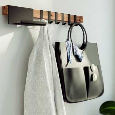 Alphonse Wall Mounted Coat Rack - Wayfair