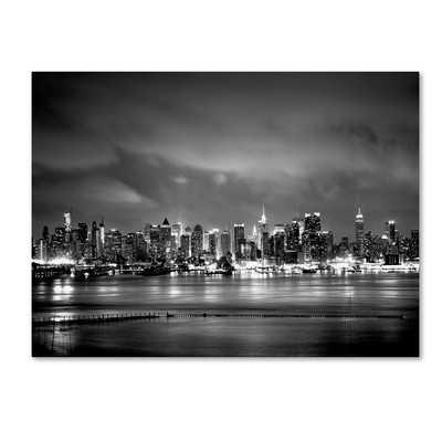'New York Skyline' Photographic Print on Wrapped Canvas - Wayfair