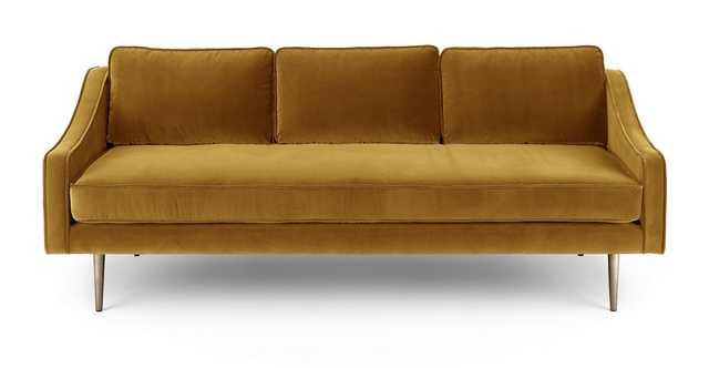 Mirage Yarrow Gold Sofa - Article