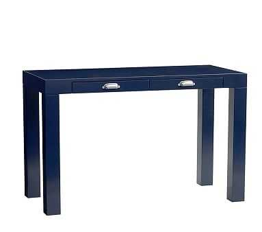 Parsons Desk with Handle, Midnight Navy - Pottery Barn Kids