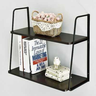 Ja 2-Tier Display Wall Shelf - Wayfair