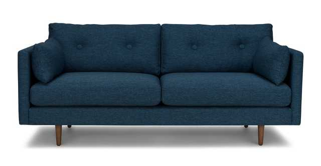 "Anton Twilight Blue 74"" Sofa - Article"
