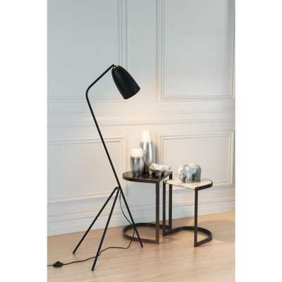 ZUO Jamison 59.8 in. Matt Black Floor Lamp - Home Depot