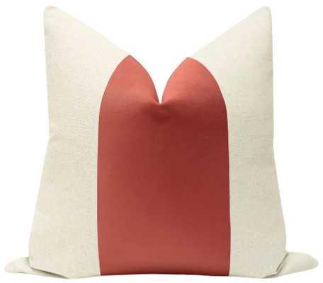 "PANEL :: Classic Velvet // Coral - 18"" X 18"" - Little Design Company"
