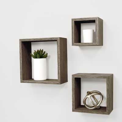 Cubbi 3 Piece Wall Shelf Set - Wayfair
