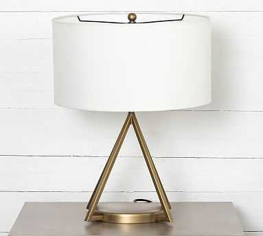 Porter Table Lamp, Antique Brass - Pottery Barn