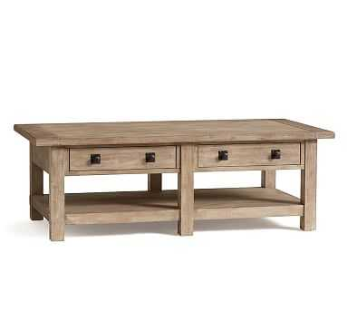 Benchwright Coffee Table, Seadrift - Pottery Barn