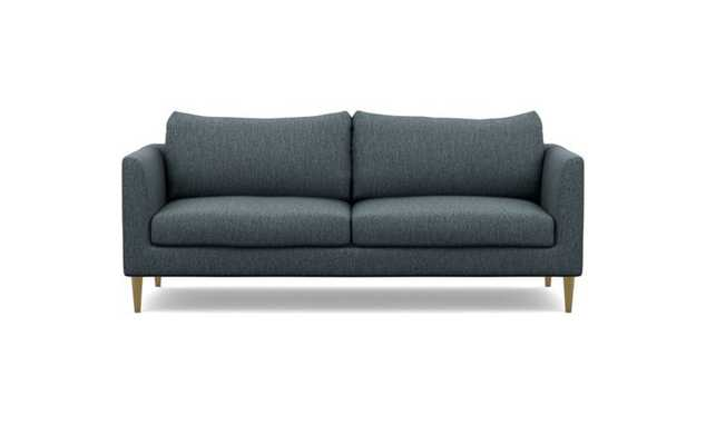 Owens Sofa with Rain Fabric and Brass Plated legs - Interior Define