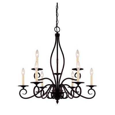 Ingles 9-Light Candle-Style Chandelier - Wayfair