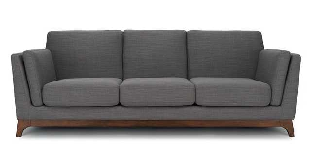 Ceni Pyrite Gray Sofa - Article