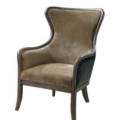 Barraza Wingback Chair - Wayfair
