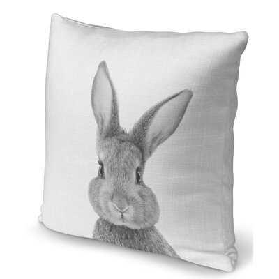 Gianluca Bunny Throw Pillow - Wayfair