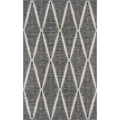 Erin Gates by Momeni Beacon Black 7 ft. 6 in. x 9 ft. 6 in. Indoor/Outdoor Area Rug - Home Depot