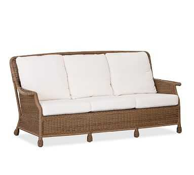 Saybrook All-Weather Wicker Sofa - Pottery Barn