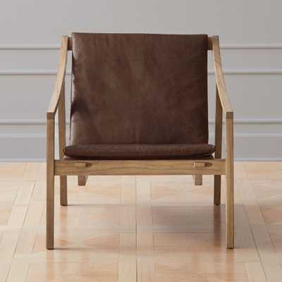 Skiva Slatted Lounge Chair - CB2