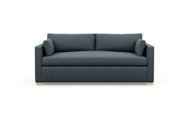 Charly Sofa with Blue Rain Fabric and Natural Oak legs - Interior Define