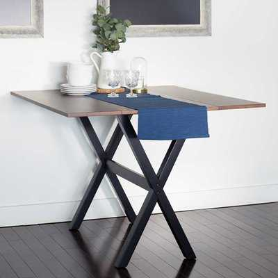 Yorkshire Drop Leaf Solid Wood Dining Table - Wayfair