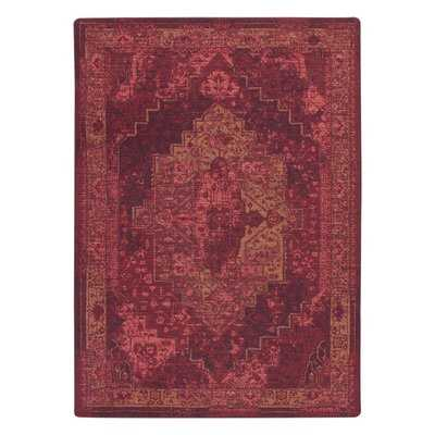 Tate Sultan Red Area Rug - Wayfair