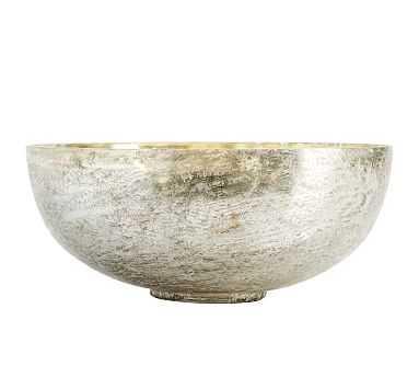 Rough Cast Mercury Candle Pot, Cardamon & Vanilla - Extra Large - Pottery Barn