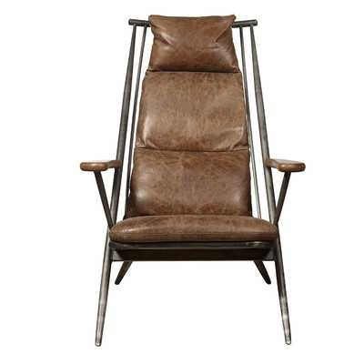 Chief Leather Armchair - Wayfair
