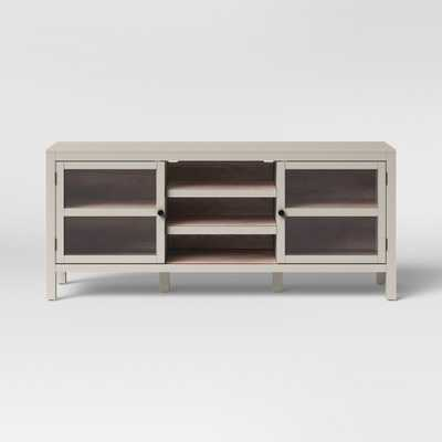 Hadley Large Media Cabinet Gray - Threshold - Target