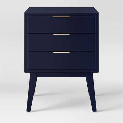 Hafley Three Drawer End Table Oxford Blue - Project 62 - Target