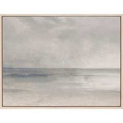 "Pastel Seascape II"" Framed Wall Art - Wayfair"