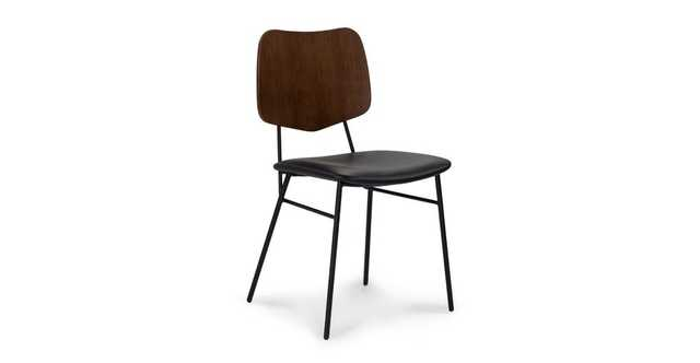 Versus Walnut Dining Chairs, set of 2 - Article