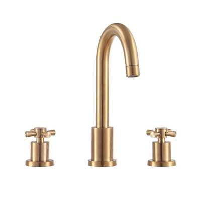 Avanity Messina 8 in. Widespread 2-Handle Bathroom Faucet in Matte Gold - Home Depot