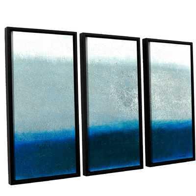 'Marianas' 3 Piece Framed Painting Print on Canvas Set - Wayfair