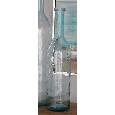 Bocana Glass Bottle Floor Vase - Wayfair