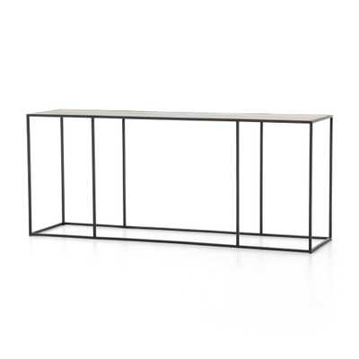 Phillip Brass Console Table - Crate and Barrel