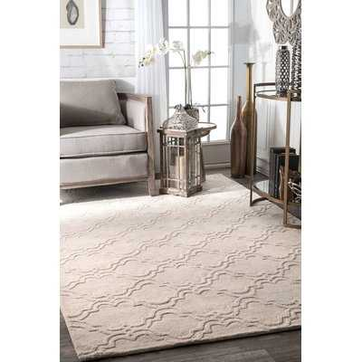 Alonza Wool Cream Area Rug - Wayfair