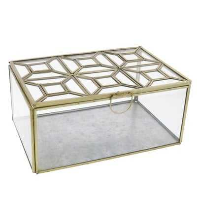 Buxton Leaded Top Decorative Box - Wayfair
