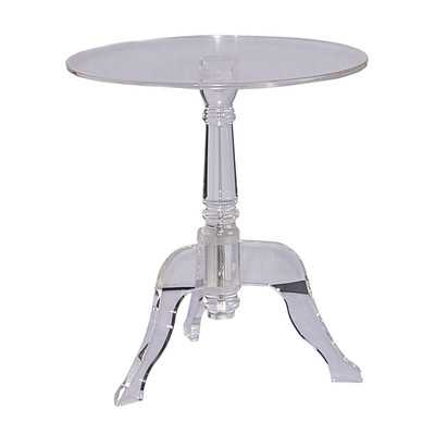 Kreger Acrylic End Table - Wayfair