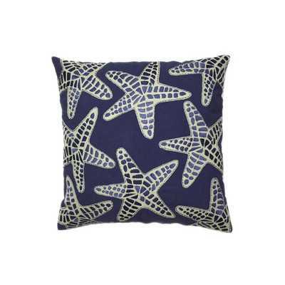 Nautical Starfish Throw Pillow - Wayfair
