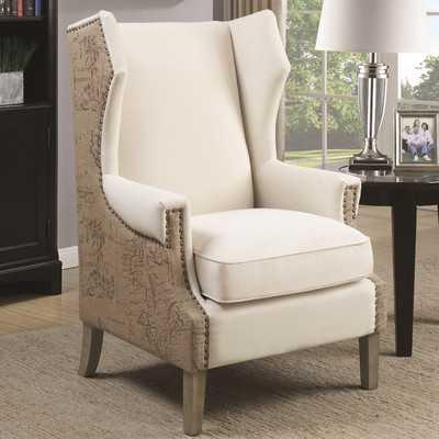 Kahler Wingback Chair - Birch Lane