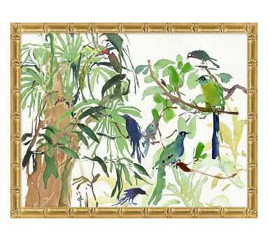 Rainforest Birds - Pottery Barn