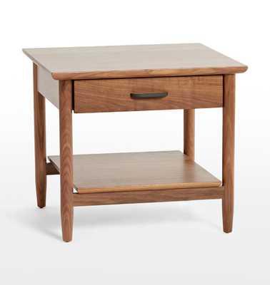 Shaw Walnut Side Table - Rejuvenation