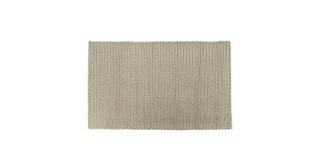 Bridle Silver Gray Rug 5 x 8 - Article