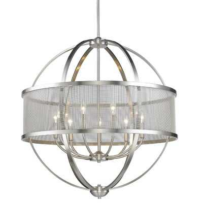 Earlene 9-Light Candle Style Globe Chandelier - AllModern