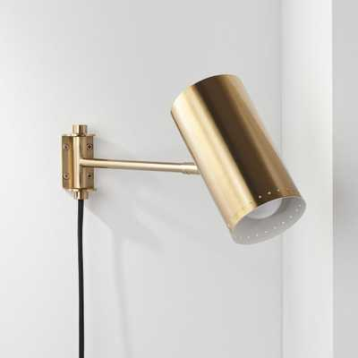 Solo Wall Sconce Brass - CB2