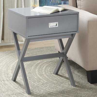 Maison End Table with Storage - AllModern