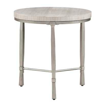 Alexys Round End Table - Wayfair