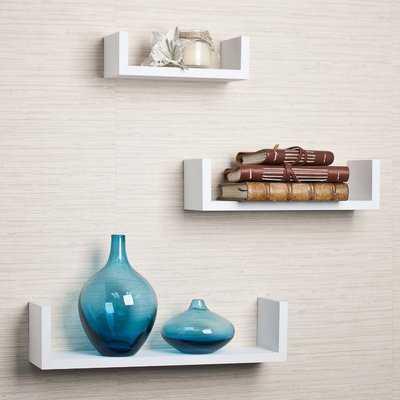 Wickes 3 Piece Floating Shelf Set - Wayfair